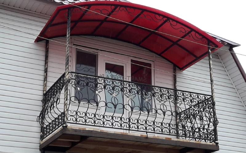 Козырек над балконом ДОнгрупп